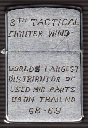 Collection de zippo-rolf (partie...) - Page 18 8th_Tactical_Fighter_Wing_Ubon_Thailand_1