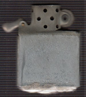 Black Crackle Zippo Grandfather 4