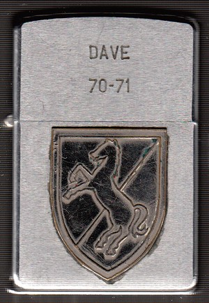 Dave How Btry 3 11 ACR 1970 - 1971 1