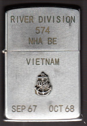 River Division 574 Nha Be Sep 67 Oct 68 1