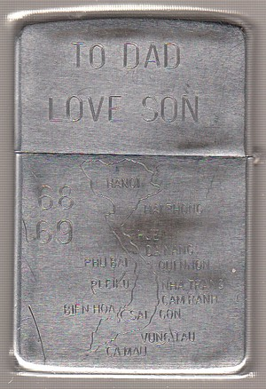 To Dad Love Son 1968 - 1969 2