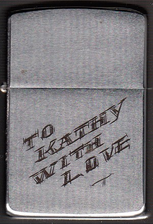 To Kathy With Love From Eddie 1967 1