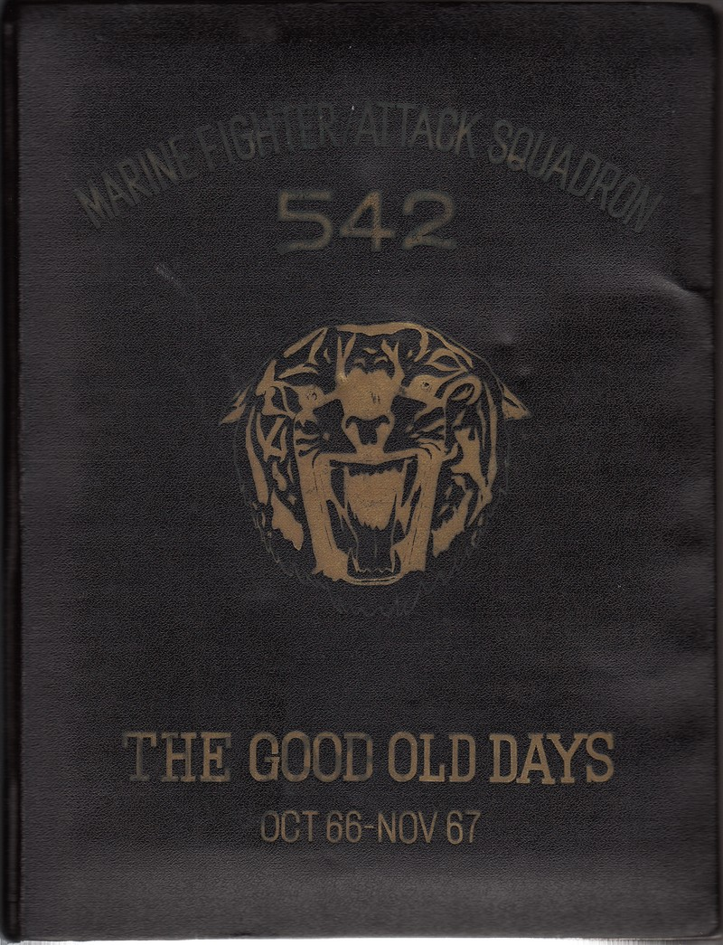 VMFA 542 Yearbook 66 - 67