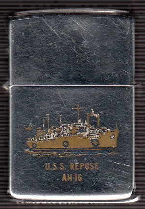 USS Repose AH 16 When I Die 1