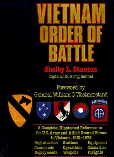 Vietnam Order of Battle 1987